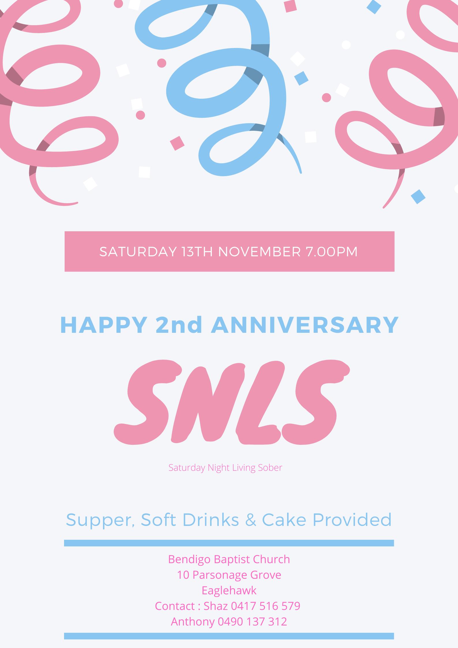 SNLS Anniversary